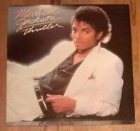 Michael Jackson – Thriller Vinyl LP Album 33rpm 1982 Epic – EPC 85930