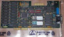 ISA 16Bit Grafikkarte GENOA Systems Super VGA Model 6400 GVGA Graphic Karte Card