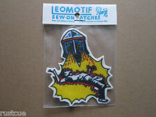 Robot Vintage Leomotif Cloth Sew On Patch Badge Crafting Sewing
