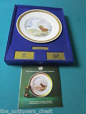 "Royal Copenhagen & U.S. Historical Society's National Parks ""Yellowstone"" Plate"