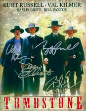 TOMBSTONE-MOVIE-CAST Autographed 8 X 10 Photo RP