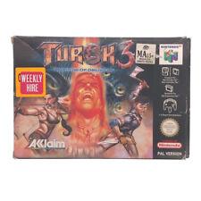 Turok 3 Shadow of Oblivion Boxed N64 Game USED
