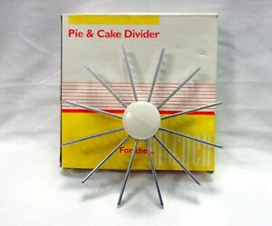 12-Cut Pie Slicer Cake Cutter Press Marker Divider Professional Kitchen Tool