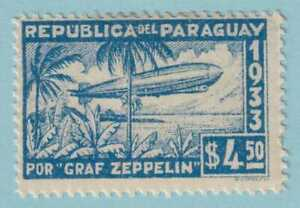 PARAGUAY C79 MINT HINGED OG * NO FAULTS EXTRA FINE!  ZEPPELIN