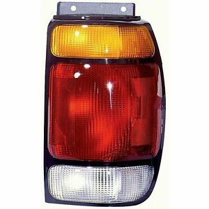 Tail Light Assembly Right Ford Explorer 95 96 97 TYC 11-3053-01 Flr