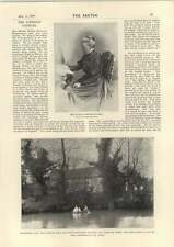 1898 Miss Mathilda Betham-edwards Westerfield Hall Press Agent America