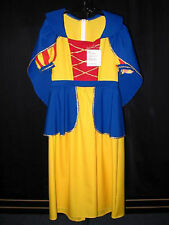 Snow White Costume Women's Large Princess Storybook Cosplay Fancy Dress