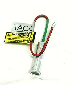 Taco replacement bulb  3 Watt Green For F38-6800D & F38-6602  Part# F38-6000-G
