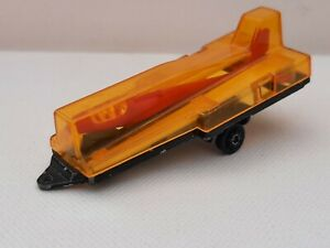 Majorette France. Trailer Complete With Glider. 1/60 Occasion Without Box
