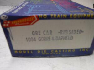 (#1) HO scale Roundhouse Gorre & Daphetid Ore Car #90-New!
