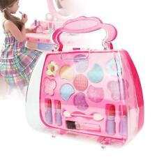 Princess Girl's Pretend Play Toy Deluxe Makeup Palette Set NON TOXIC For Kids AU