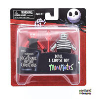 Nightmare Before Christmas Minimates Series 4 Devil & Corpse Boy