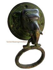 Messing Elefant Türklopfer Griff Vintage Antik Oberfläche Wohndeko Unique Neu