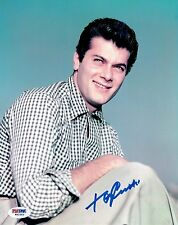 Tony Curtis Signed Authentic Autographed 8x10 Photo PSA/DNA #W62563