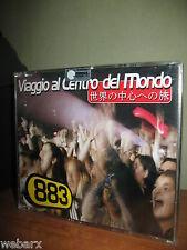 883 VIAGGIO AL CENTRO DEL MONDO CD SINGLE SINGOLO NUOVO SIGILLATO MAX PEZZALI