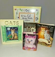 Cat Books Lot Of 5 Mini Collectibles 1 Pop up Book