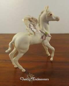 "Cybis ""Free Spirit"" Limited Edition Pegasus Horse Bisque Porcelain Figurine"