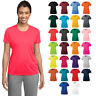 Womens Sport-Tek Dry Fit Gym Workout Performance Moisture Wicking T-Shirt LST350