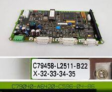 PP6028 Siemens C79458-L2511-B11 C79040-A6420-C596 EWK-X30