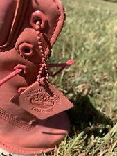 """TIMBERLAND Women's 6"""" Pink PREMIUM BOOTS SIZE 7.5 US"""