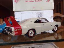 Franklin/Danbury Mint Dodge Charger Daytona Hemi Con Alas Guerrero Aero coche Mopar