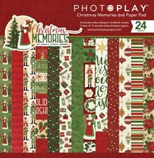 "Photoplay Paper ""Christmas Memories"" 6x6 Paper Pad 24 Double-sided Sheets"