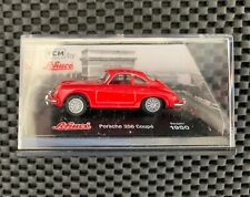 1950 1951 Red Porsche 356 Coupe 1:72 Scale Model - TCM by Schuco - New & Sealed
