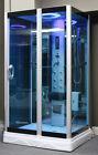 "Steam Shower Enclosure,48"" x 36"". Aromatherapy.Bluetooth.6 Year USA Warranty"
