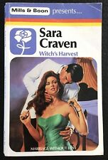 Witch's Harvest ~ SARA CRAVEN ~ Mills & Boon Vintage