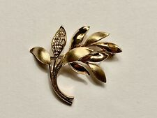 / Leaf Motif with 6 Diamonds - Mint New listing