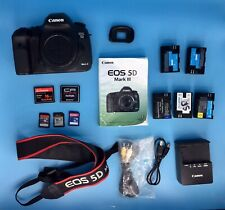 Canon EOS 5D Mark III Digital SLR Camera Body Batteries Charger And More...