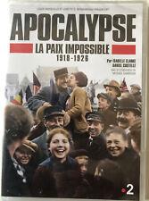 APOCALYPSE LA PAIX IMPOSSIBLE   ISABELLE CARRE ET DANIEL COSTELLE   DVD NEUF