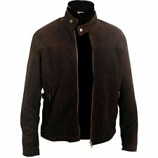 Tom Cruise Mission Impossible 3 Brown Suede Leather Jacket