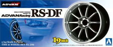 Aoshima Models 1/24 19inch Advan Racing RS-DF Wheels & Tyres Set