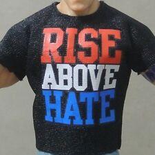 WWE Mattel Elite JOHN CENA Black nexus T- Shirt for Wrestling Figures