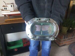 Vintage Aluminum Porthole/Portlight Marine Salvage