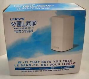 NEW Linksys Velop Dual-Band AC1300 Whole Home WiFi Router WHW0101 $118.98
