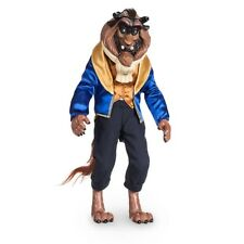 """2017 Disney Store Classic Beast Doll 12"""" Beauty and the Beast"""