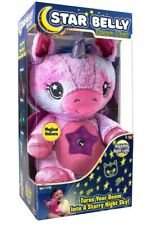 Star Belly Dream Lites, Stuffed Animal Night Light, Pink and Purple Unicorn