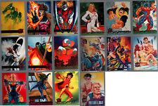 MARVEL COMICS 95 FLEER ULTRA 16 MARVEL CARDS X-MEN