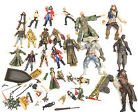 Pirates Of The Caribbean action Figure & Accessories Weapons Lot Sold AS IS