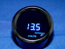 """2"""" Digital Volt Meter Blue LED Smk  Lens Blk 12 Volt DC range 0 - 19.9"""