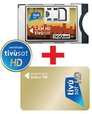 !!!!DI ULTIMA GENERAZIONE!!!!TIVUSAT CAM HD+CARD HD (GOLD  CI+)