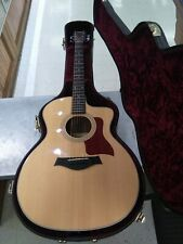 Taylor 214ce Dlx Acoustic Electric Guitar With Taylor Case
