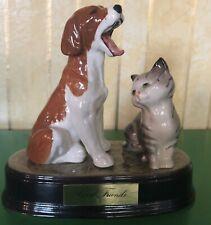 BESWICK DOG & CAT GOOD FRIENDS GLOSS FINISH MODEL No. 2950 / 1436 PERFECT