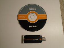 D-link DWA-130 Wireless Adapter - USB Wireless N Wi-Fi Dongle