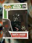 Star Wars Funko Pop! Darth Vader 279 GITD CHASE Glow In The Dark W/ Protector