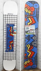 GNU Head Space Men's Snowboard Size 155 cm, Park Asym Twin, New 2021