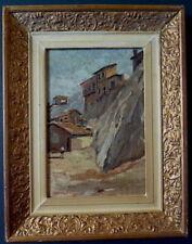Peintures du XXe siècle et contemporaines, à l'huile, sur bois, de paysage