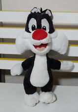 SYLVESTER J PUSSYCAT WARNER BROTHERS MOVIE WORLD SOFT TOY PLUSH TOY 31CM TALL!